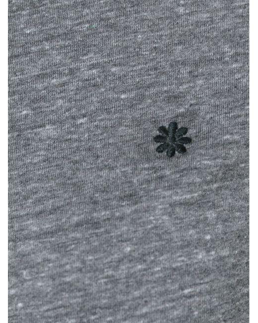 Футболка С Вышивкой В Виде Цветка Alexa Chung for AG                                                                                                              серый цвет