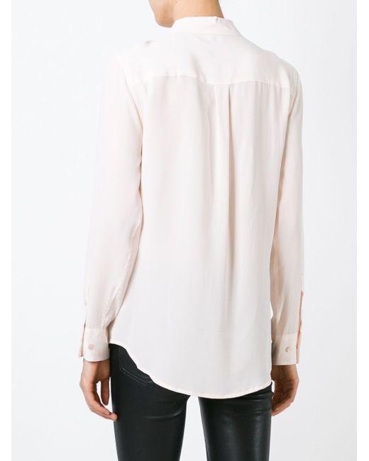 Рубашка С Карманами Equipment                                                                                                              розовый цвет