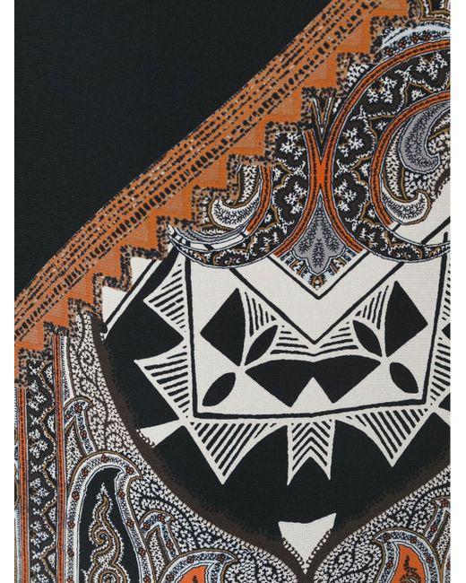Блузка С Принтом Пейсли Etro                                                                                                              чёрный цвет