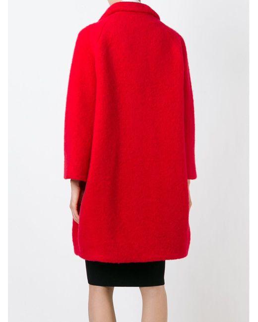 Свободное Пальто Gianluca Capannolo                                                                                                              красный цвет