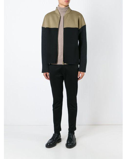 Куртка Колор-Блок Marni                                                                                                              зелёный цвет