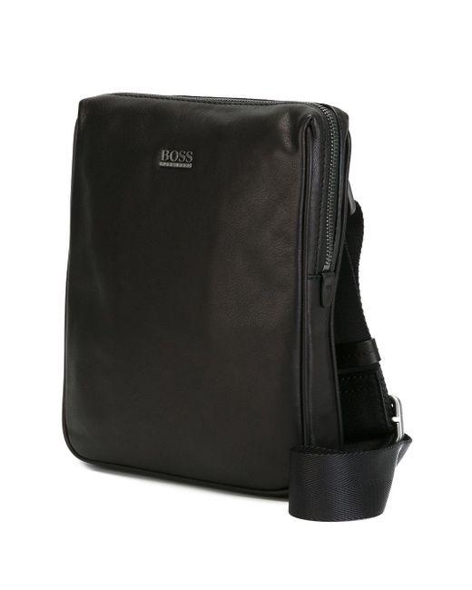 Классическая Сумка-Почтальонка Hugo                                                                                                              чёрный цвет