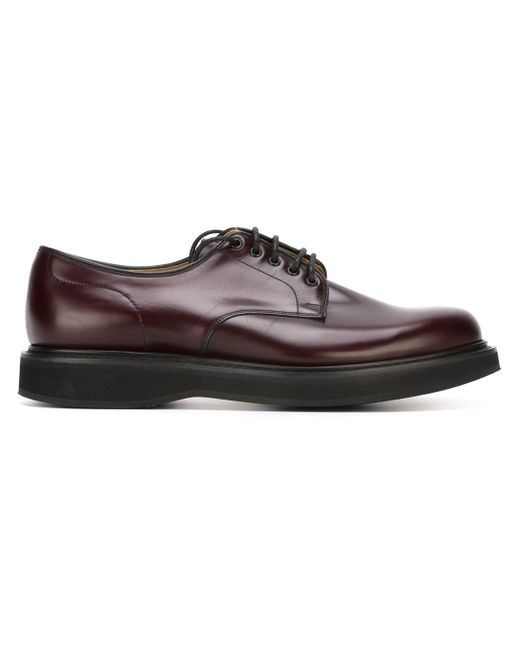 Классические Туфли-Дерби Church'S                                                                                                              красный цвет