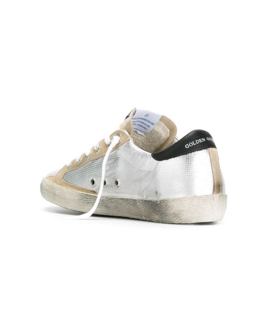 Кеды Super Star Golden Goose                                                                                                              серебристый цвет