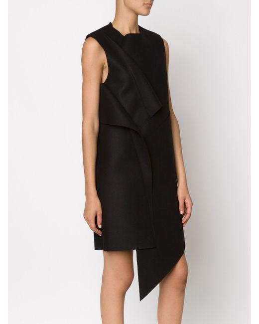 Платье С Панелями Асимметричного Кроя MOOHONG                                                                                                              чёрный цвет