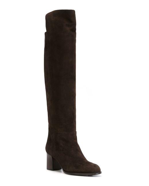 Высокие Сапоги Veronique Branquinho                                                                                                              коричневый цвет