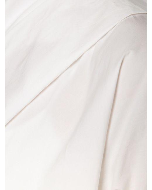Асимметричный Топ Marni                                                                                                              белый цвет
