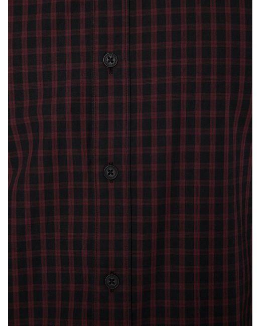 Рубашка The Stock Rag & Bone                                                                                                              красный цвет