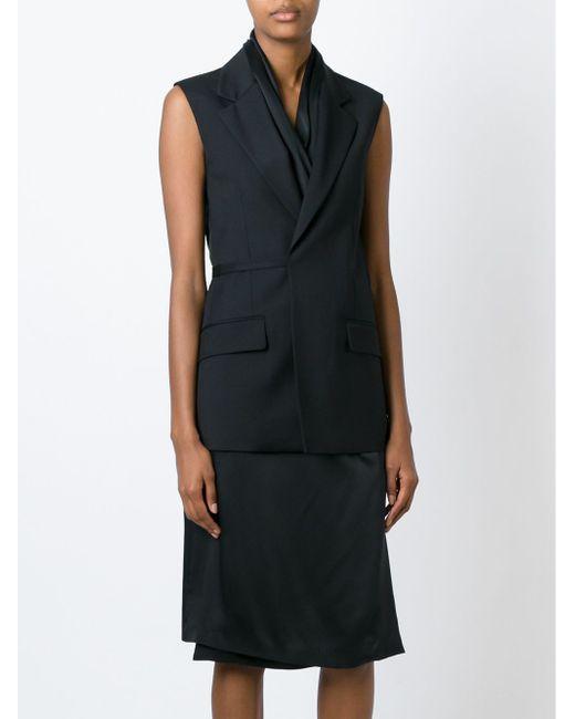 Платье-Жилет Maison Margiela                                                                                                              чёрный цвет