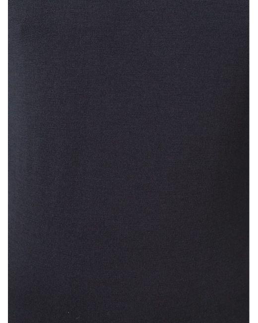 Классическая Водолазка John Smedley                                                                                                              синий цвет