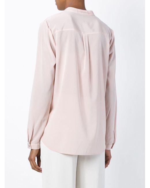 Блузка С Воротником-Стойкой Steffen Schraut                                                                                                              розовый цвет