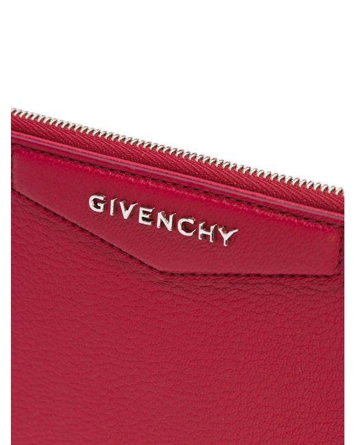 Средний Клатч Antigona Givenchy                                                                                                              красный цвет