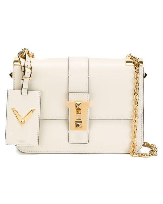 Сумка На Плечо New Glam Valentino Garavani                                                                                                              белый цвет