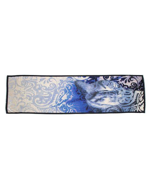 Шарф С Принтом Etro                                                                                                              синий цвет