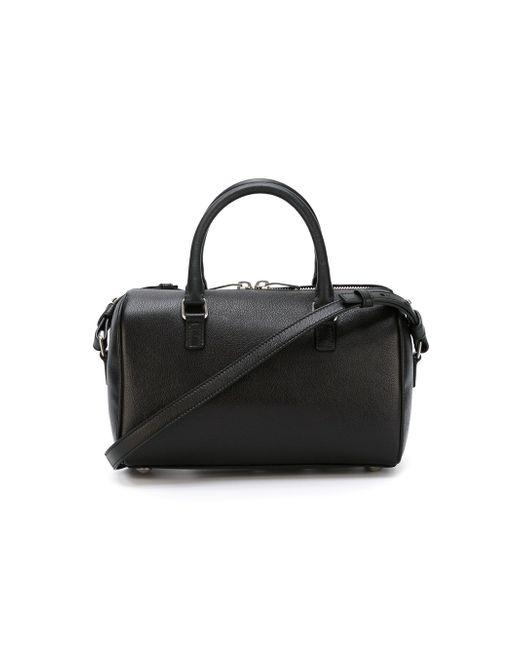 Маленькая Сумка-Тоут Duffle Saint Laurent                                                                                                              чёрный цвет