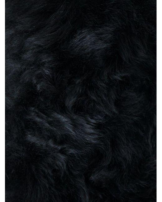 Меховой Жилет Из Овчины Ann Demeulemeester                                                                                                              чёрный цвет