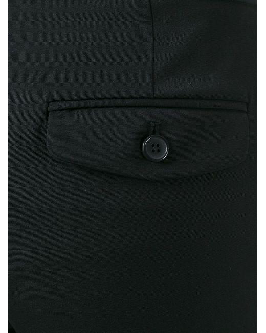 Брюки Кроя Слим Maison Margiela                                                                                                              чёрный цвет