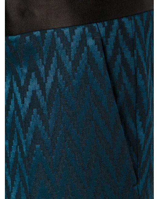 Тканые Брюки Haider Ackermann                                                                                                              синий цвет