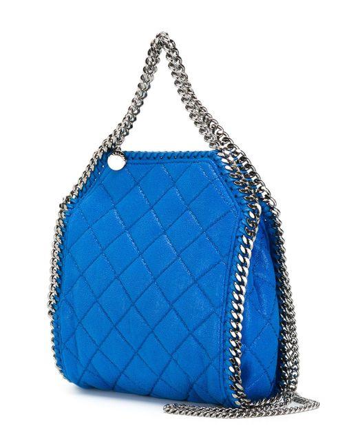 Сумка-Тоут Falabella Stella Mccartney                                                                                                              синий цвет