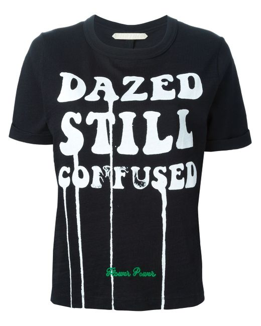 Футболка Dazed Still Confused OFF-WHITE                                                                                                              чёрный цвет