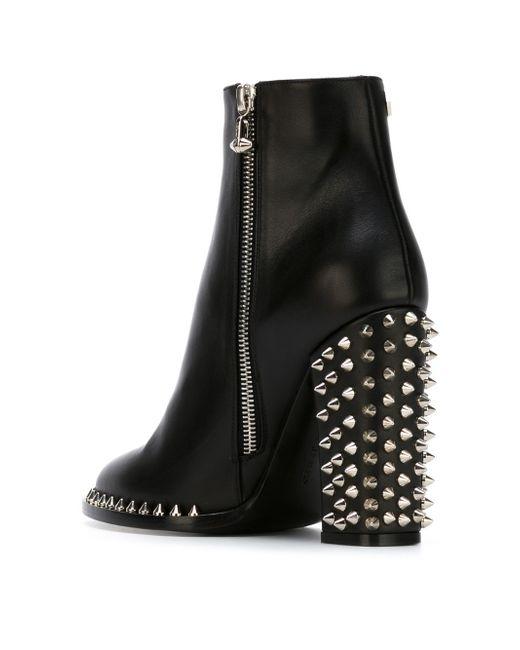 Ботинки По Щиколотку Shine Philipp Plein                                                                                                              чёрный цвет