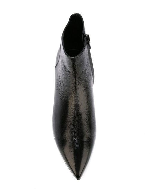 Ботильоны Paris Saint Laurent                                                                                                              чёрный цвет