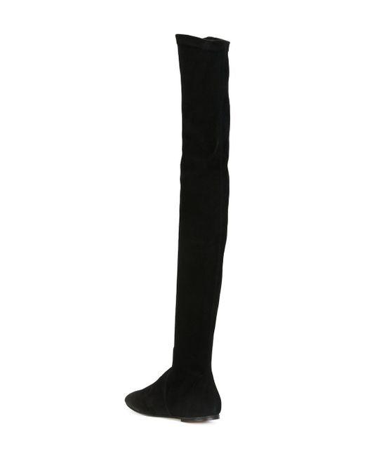 Ботфорты Brenna Isabel Marant                                                                                                              чёрный цвет