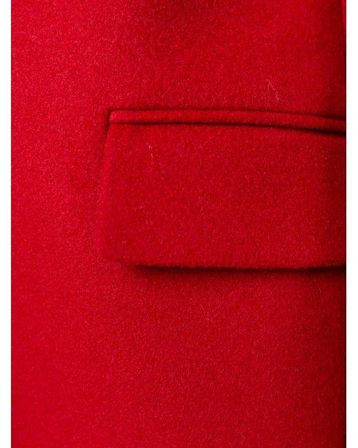 Пальто Bryce Stella Mccartney                                                                                                              красный цвет