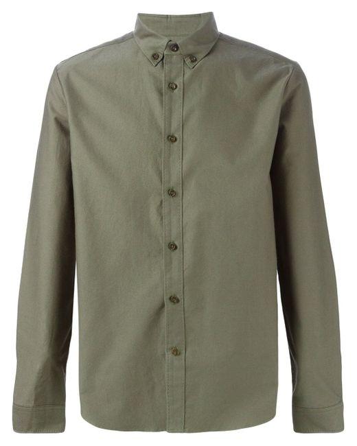 Классическая Рубашка 08SIRCUS                                                                                                              зелёный цвет