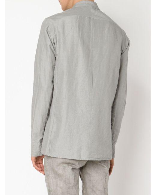 Классическая Рубашка THE VIRIDI-ANNE                                                                                                              серый цвет