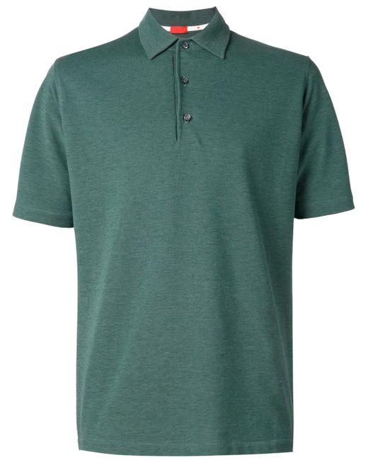 Классическое Поло Isaia                                                                                                              зелёный цвет