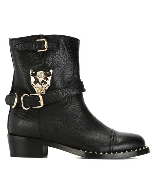 Ботинки Panther Philipp Plein                                                                                                              чёрный цвет