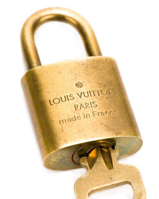 Замок С Логотипом LOUIS VUITTON VINTAGE                                                                                                              серебристый цвет
