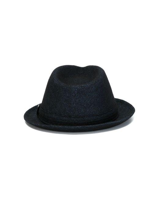 Шляпа-Федора Jacob Cohёn                                                                                                              синий цвет