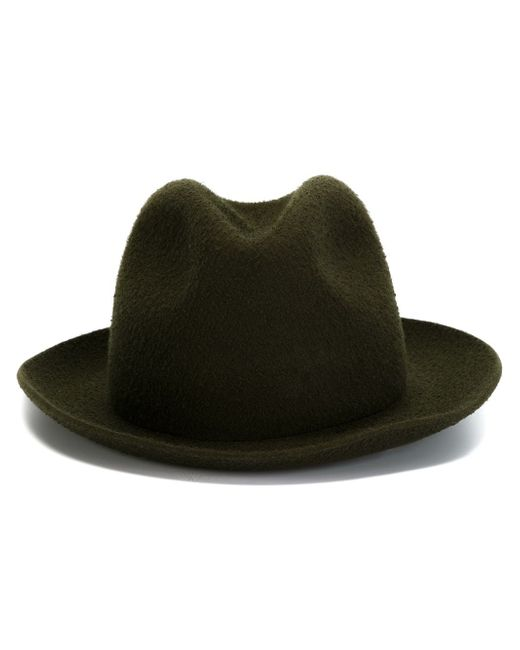 Шляпа-Федора FEDERICA MORETTI                                                                                                              зелёный цвет