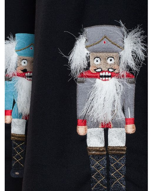 Embroidered Nutcracker Skirt Olympia Le-Tan                                                                                                              None цвет