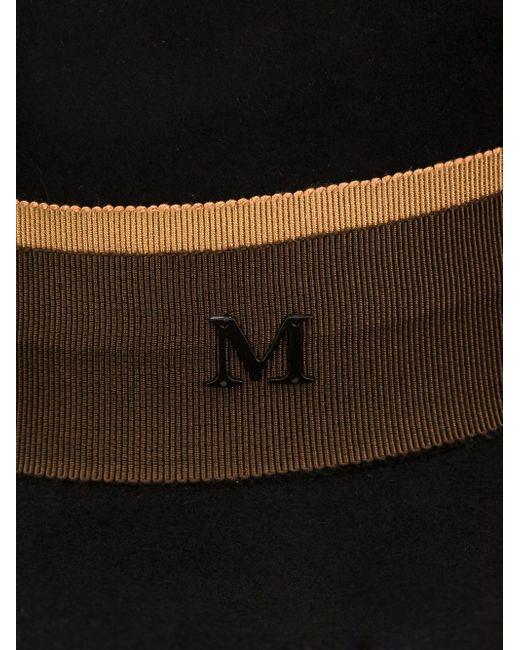 Фетровая Шляпа С Широкими Полями Maison Michel                                                                                                              чёрный цвет