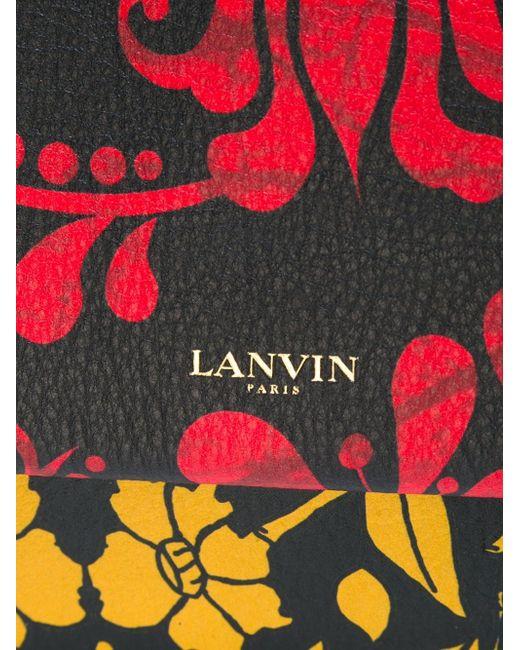 Сумка Через Плечо Sugar Lanvin                                                                                                              чёрный цвет