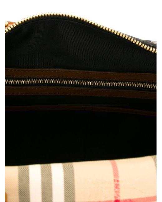 Дорожная Сумка House Check Burberry                                                                                                              коричневый цвет