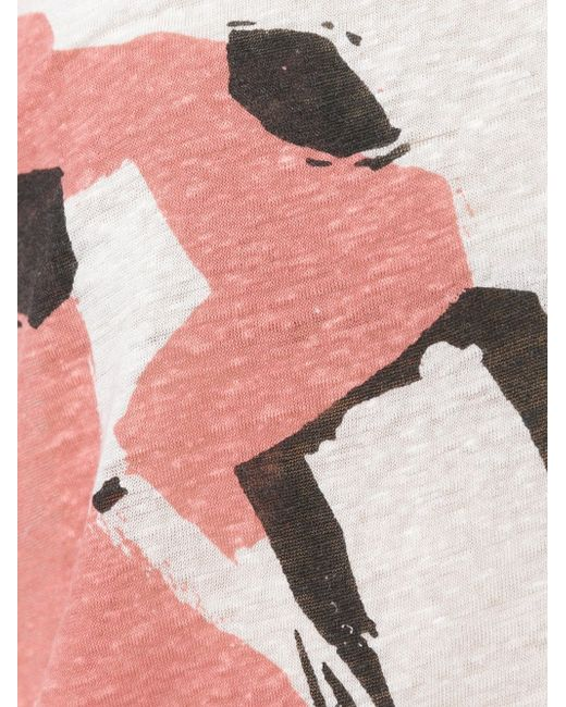 Футболка С Принтом Burberry Brit                                                                                                              Nude & Neutrals цвет