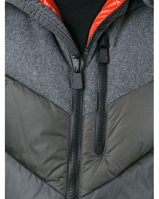 Пуховик На Молнии Moncler Grenoble                                                                                                              серый цвет