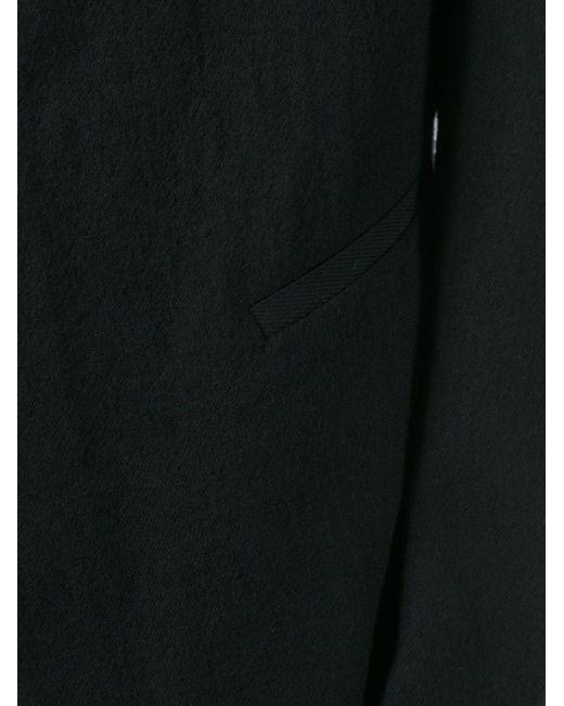 Блейзер С Необработанными Краями CEDRIC JACQUEMYN                                                                                                              чёрный цвет