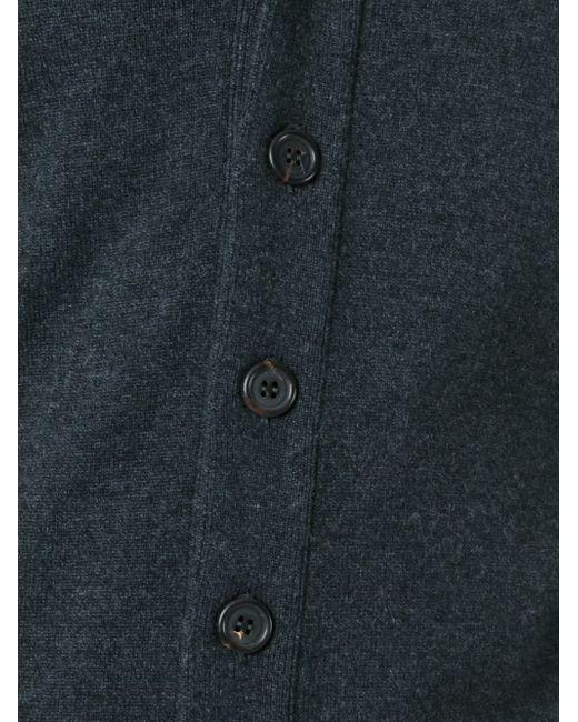 Кардиган С V-Образным Вырезом Brunello Cucinelli                                                                                                              серый цвет