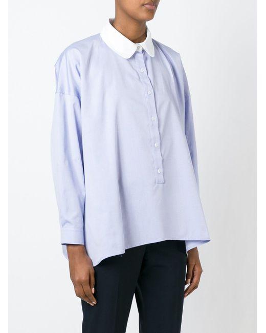 Рубашка Marquez Vivetta                                                                                                              синий цвет