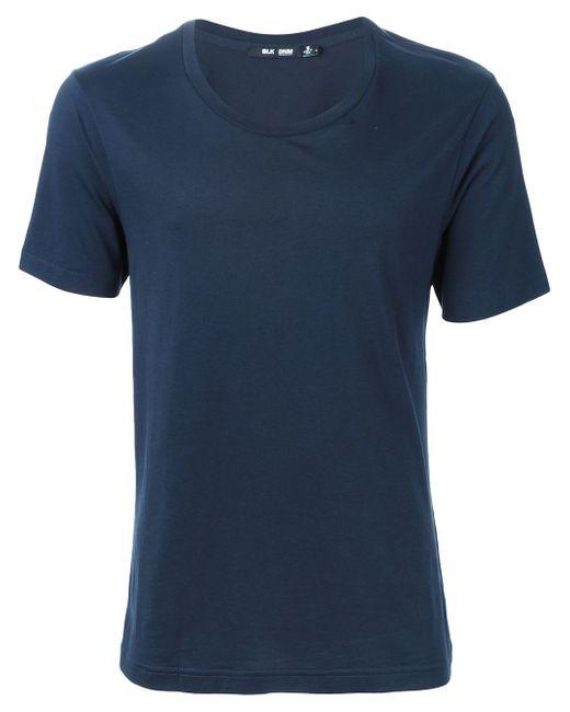 Round Neck T-Shirt Blk Dnm                                                                                                              синий цвет