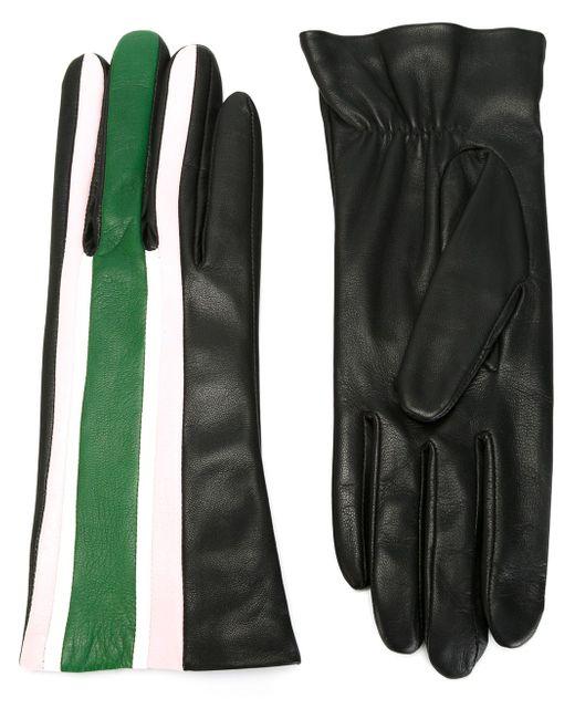 Перчатки В Полоску Christopher Kane                                                                                                              чёрный цвет