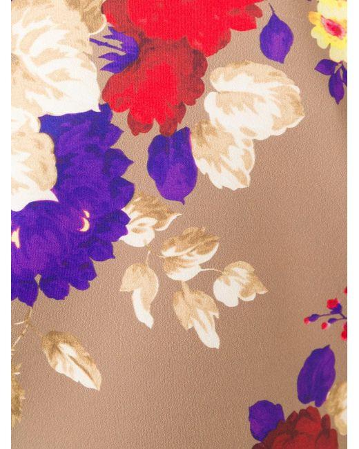 Топ Свободного Кроя С Цветочным Принтом Antonio Marras                                                                                                              Nude & Neutrals цвет