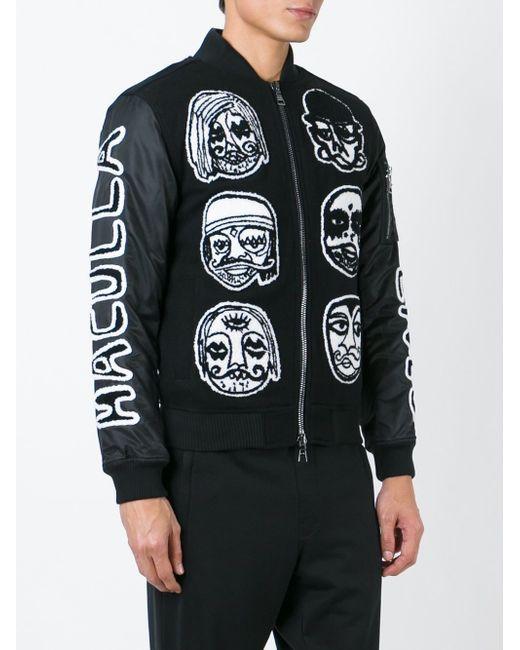 Куртка-Бомбер С Нашивками HACULLA                                                                                                              чёрный цвет