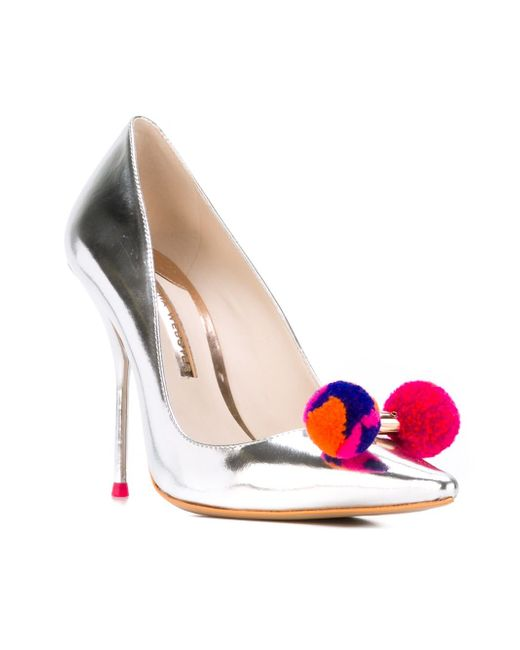 Туфли Lola Sophia Webster                                                                                                              серый цвет
