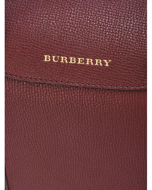 Сумка-Тоут Alchester Burberry                                                                                                              красный цвет